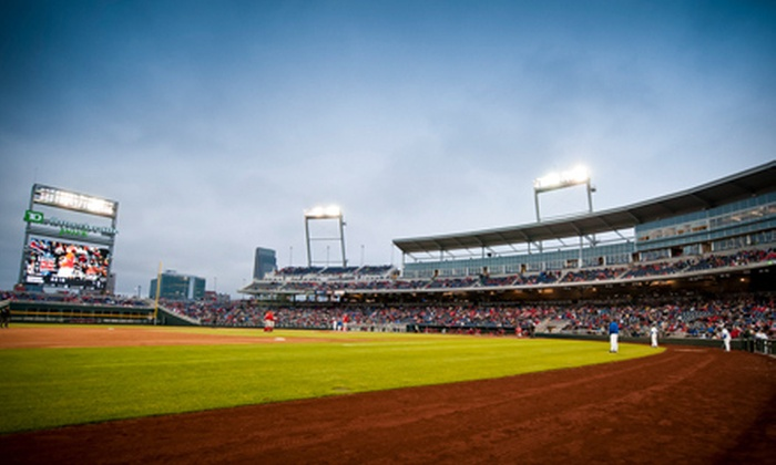 Creighton University Bluejays Baseball - Downtown: Two or Four Tickets to See a Creighton University Baseball Game at TD Ameritrade Park Omaha. Six Games Available.
