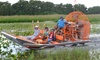Boggy Creek Airboat Adventures - Southport Location: Airboat Tours and/or Gem/Fossil Mining at Boggy Creek Airboat Adventures (Up to 56% Off). Six Options Available.