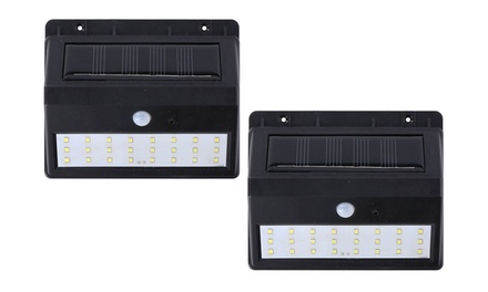 Grundig 24 LED Solar WallMounted Motion Sensor Garden Light TwoPack or FourPack