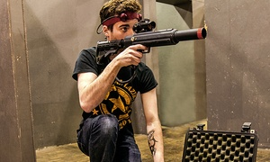 CMP Tactical Lazer Tag: Frankfort: Laser Tag at CMP Tactical Lazer Tag Frankfort (Up to 52% Off). Six Options Available.