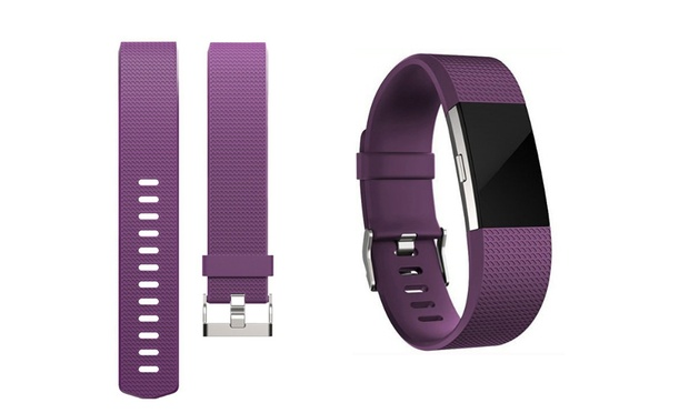 Sports Silicone Replacement Band for Fitbit Charge 2: One ($9.95), Two ($14) or Eight ($39)