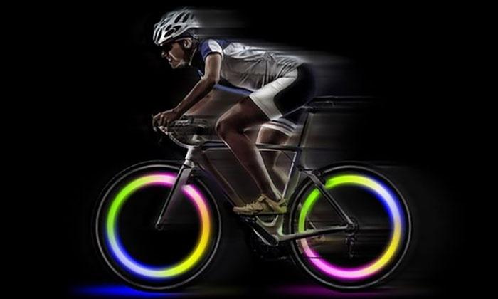 Tot 72% op LED-verlichting voor fietswielen | Groupon Producten