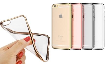 1 of 2 hoesjes voor iPhone 5/5S, 6/6S, 6 Plus, 7, 7 Plus, in verschillende kleuren vanaf € 6,99