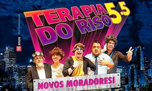 Espetáculo Terapia do Riso: Terapia do Riso 5.5 – Teatro Miguel Falabella: ingresso individual