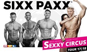 """Sixx Paxx Concert Gmbh: Sixx Paxx Male Revue Show """"Sexxy Circus"""" im Oktober oder November in vielen deutschen Städten (bis zu 27% sparen)"""