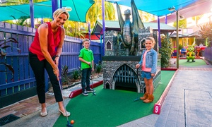 Putt Putt Mermaid Beach: 18 Holes of Mini Golf for One ($9), Two ($18) or Four People ($36) at Putt Putt Mermaid Beach (Up to $72 Value)