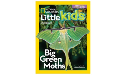 Three-, Six-, or 12-Issue National Geographic Little Kids Magazine Subscription (Up to 47% Off)