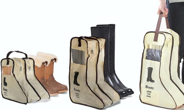 Groupon Goods Global GmbH: Bolsa organizadora para zapatos o botas desde 8,99 € (hasta 40% de descuento)