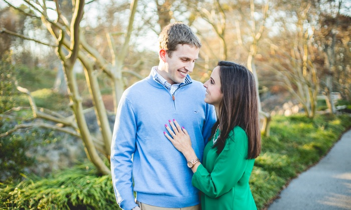 DanielKphotography - Raleigh / Durham: 60-Minute Engagement Photo Shoot with 6 Digital Images from Daniel K. Photography (70% Off)