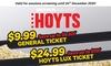 HOYTS Cinema Tickets