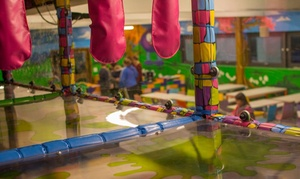 Mini Monsters: Play Area Access for Two Children and Option of Meal for Two Children and Two-Adults at Mini Monsters (Up to 55% Off)