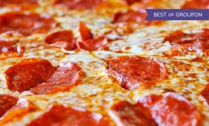 Home Style Pizza: $20 Worth of Pizza and Sicilian Food at Home Style Pizza (Up to 50% Off)