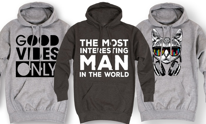 Men's Fashion Graphics Hoodies