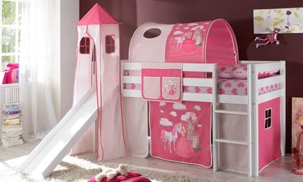 Lit sur lev pour enfant groupon shopping for Chambre de fille de 8 ans