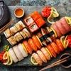 Box d'asporto sushi da 60 pezzi
