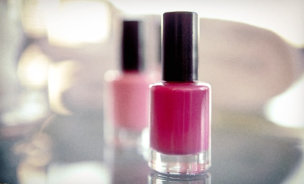 Short & Sweet Manicure and American Pedicure or Traditional Manicure and Pedicure at Salon Di Panache (Up to 60% Off)