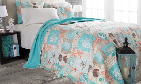 Lavish Home Quilt Set (2- or 3-Piece)