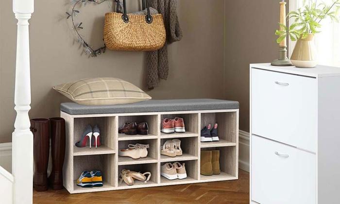 Shoe Storage Cabinet Groupon