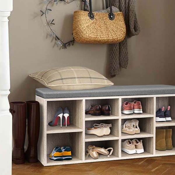 From $49 for a Shoe Storage Cabinet in Choice of Colour and Design