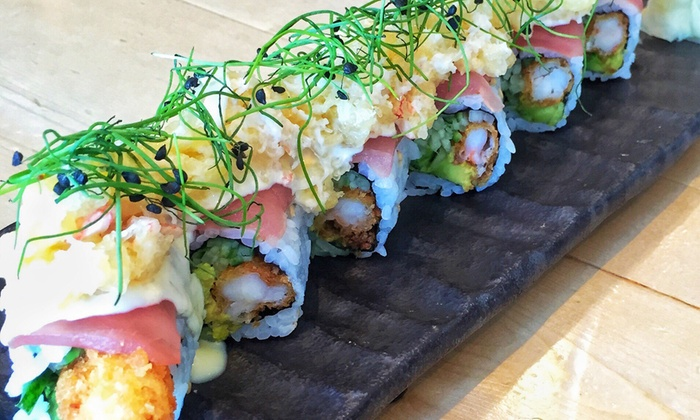 Fuji at Assembly - Mystic River: $14 for $25 Worth of Sushi, Japanese Cuisine, and Drinks at Fuji at Assembly