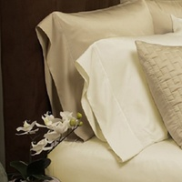 Luxury Home Bamboo-Blend Sheet Set in Light Colors