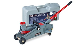 Pro Lift Hydraulic Trolley Jack with Blow-Molded Case