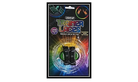 One, Two or Four Pairs of PMS International Light Up Trainer Laces