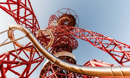 ArcelorMittal Orbit Entry with a Hot Drink and Slice of Cake for a Child or One or Two Adults (44% Off)