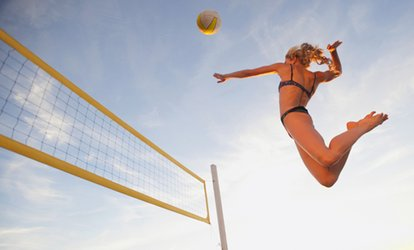 immagine per 5 lezioni di beach volley indoor e outdoor alla Beach Volley Academy (sconto fino a 80%). Valido in 4 sedi