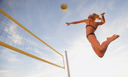 5 lezioni di beach volley in 4 sedi