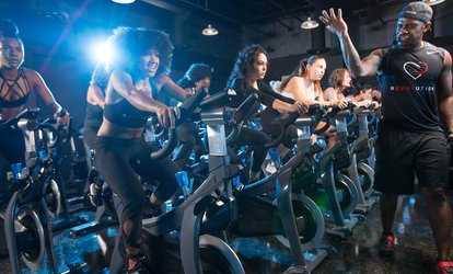 image for One Week or One Month of Unlimited Indoor <strong>Cycling</strong> at Revolution (Up to 73% Off)