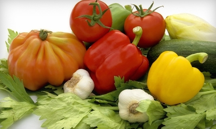 Rock Dove Farm - Multiple Locations: $9 for a Full-Size Farm-Share Produce Sampler from Rock Dove Farm (Up to $25 Value)