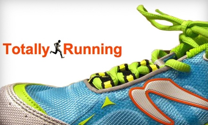 Totally Running - Multiple Locations: $25 for $50 Worth of Footwear at Totally Running