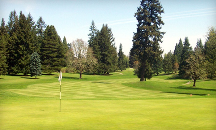 Forest Hills Golf Course - Cornelius: $56 for Two Greens Fees, Cart, and Range Balls at Forest Hills Golf Course in Cornelius (Up to $111.50 Value)
