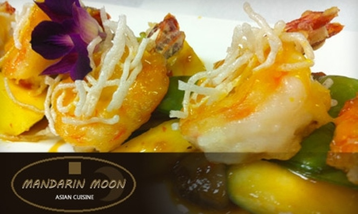 Mandarin Moon - Gulf Breezes: $15 for $30 Worth of Asian Dinner Fare and Drinks or $5 for $10 Worth of Asian Lunch Fare and Drinks at Mandarin Moon Restaurant
