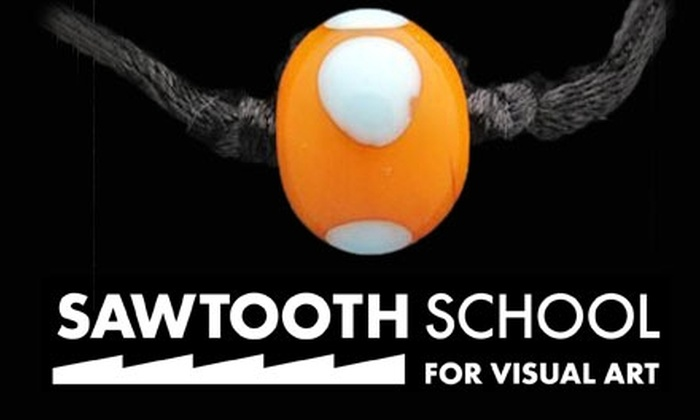 "Sawtooth School for Visual Art - Downtown Winston-Salem: $17 for One ""Taste of Art"" Class at Sawtooth School for Visual Art"
