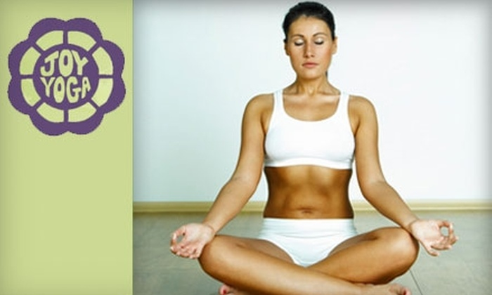 Joy Yoga Center - Washington Ave./ Memorial Park: $49 for One Month of Unlimited Yoga Classes at Joy Yoga Center