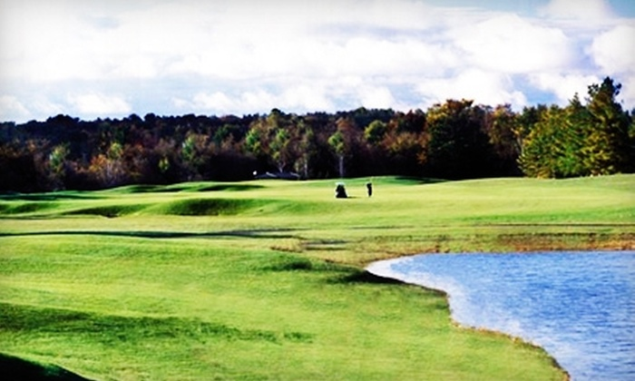 Stonebridge Golf Club - Ann Arbor: $45 for a Round of Golf for Two with Golf Cart (Up to $94 Value) or $19 for Five Large Buckets of Range Balls ($50 Value) at Stonebridge Golf Club
