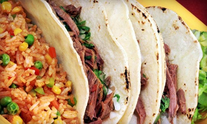 Villa y Zapata Restaurant - Eastside El Paso: Mexican Fare at Villa y Zapata Restaurant (Up to 53% Off). Two Options Available.