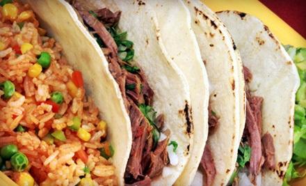 $20 Groupon - Villa y Zapata Restaurant in El Paso