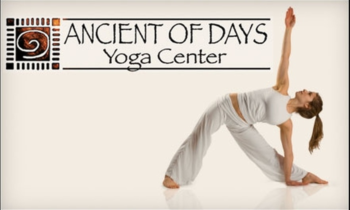 Ancient of Days Yoga Center - Newnan: $25 for Four Classes at Ancient of Days Yoga Center ($50 Value)