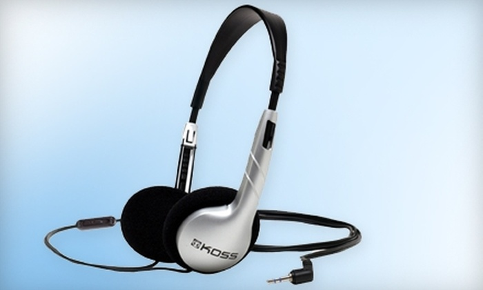 Koss.com: $20 for $50 Worth of Earbuds, Headphones, and More from Koss.com