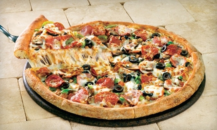 Papa John's Pizza - Multiple Locations: $13 for Extra-Large Pizza with Up to Seven Toppings and Three-Pack of IT'S-IT Ice Cream at Papa John's Pizza (Up to $36.28 Value). Five Locations Available.