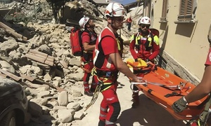 Croce Rossa Italiana: Croce Rossa Italiana per il Centro Italia - DONA ADESSO, non c'è tempo da perdere!