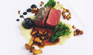 AM:PM Bohemian Restaurant: Two-Course Meal with Wine for Two at AM:PM Bohemian Restaurant (Up to 47% Off)