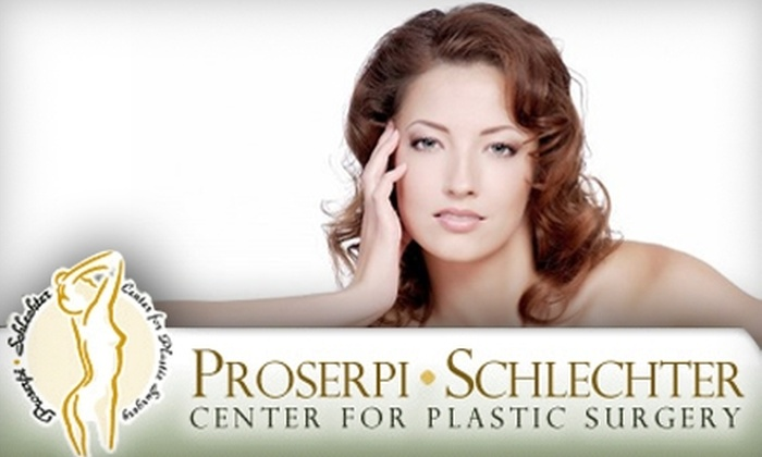 Proserpi-Schlecter Center for Plastic Surgery - Spring: $199 for Botox and a Hydrafacial at Proserpi-Schlecter Center for Plastic Surgery ($600 Value)