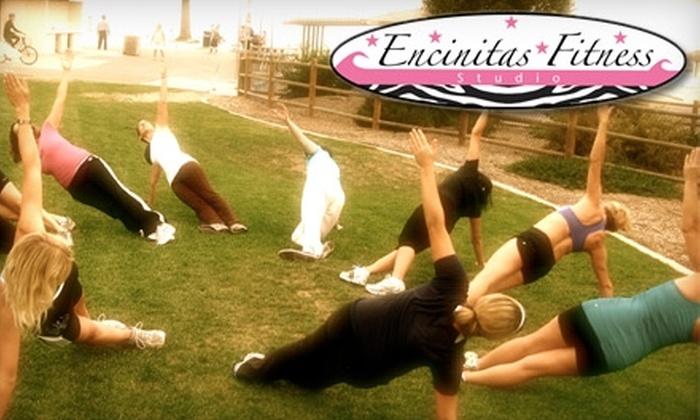 Encinitas Fitness Studio - Encinitas: $29 for Five Drop-In Boot Camp Classes at Encinitas Fitness Studio ($100 Value)