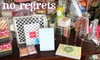 No Regrets - Central Oklahoma City: $25 for $50 of Stationery, Invitations, and Personalized Gifts at No Regrets