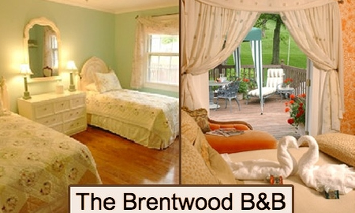 The Brentwood B&B - Brentwood: $90 for a One-Night Stay in a Deluxe Room at The Brentwood B&B (Up to $175 Value)