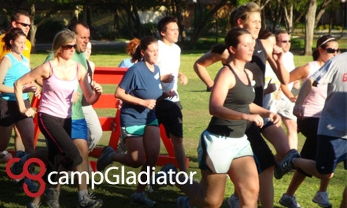 Camp Gladiator - Multiple Locations: $69 for Four Weeks of Unlimited Fitness Boot-Camp Sessions at Camp Gladiator